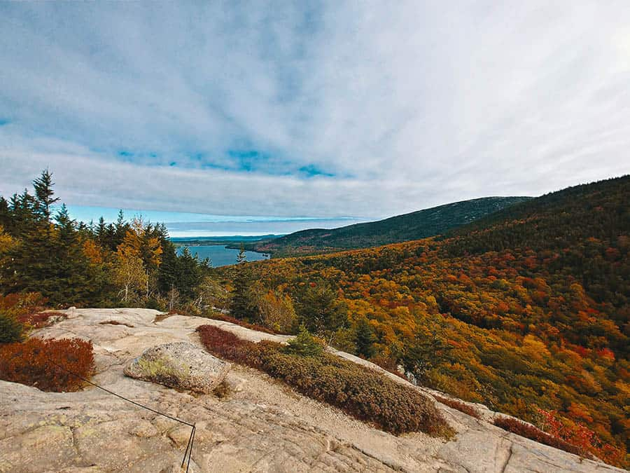 Acadia National Park camping site