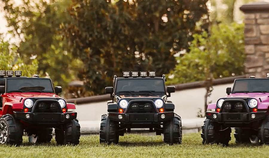 Best Electric Jeep for Kids