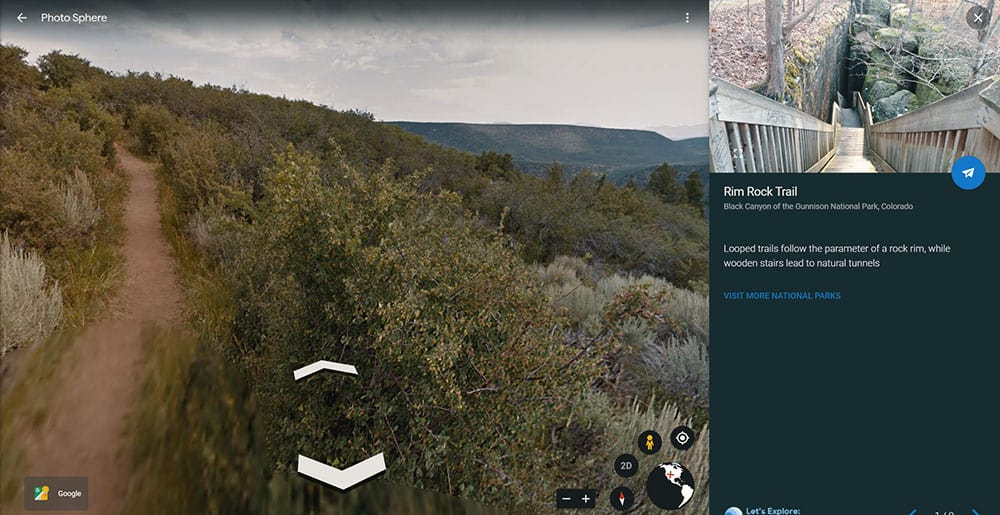 Black Canyon of The Gunnison National Park virtual tour