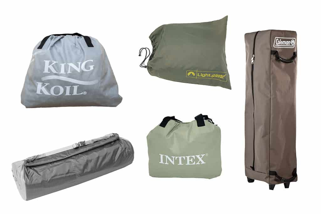 Camping Air Mattress Storage Bag