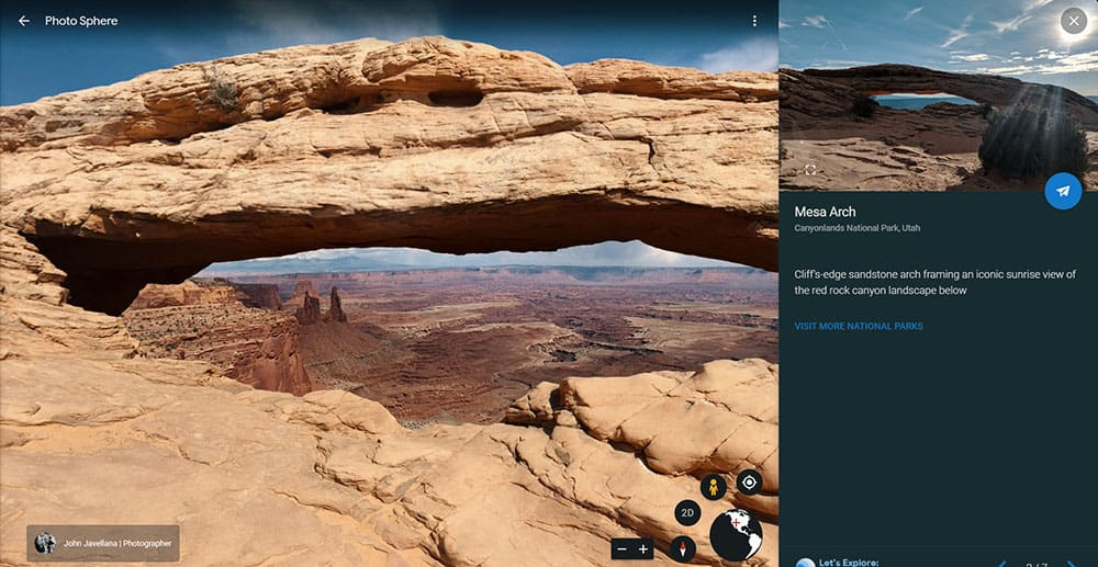Canyonlands National Park virtual tour