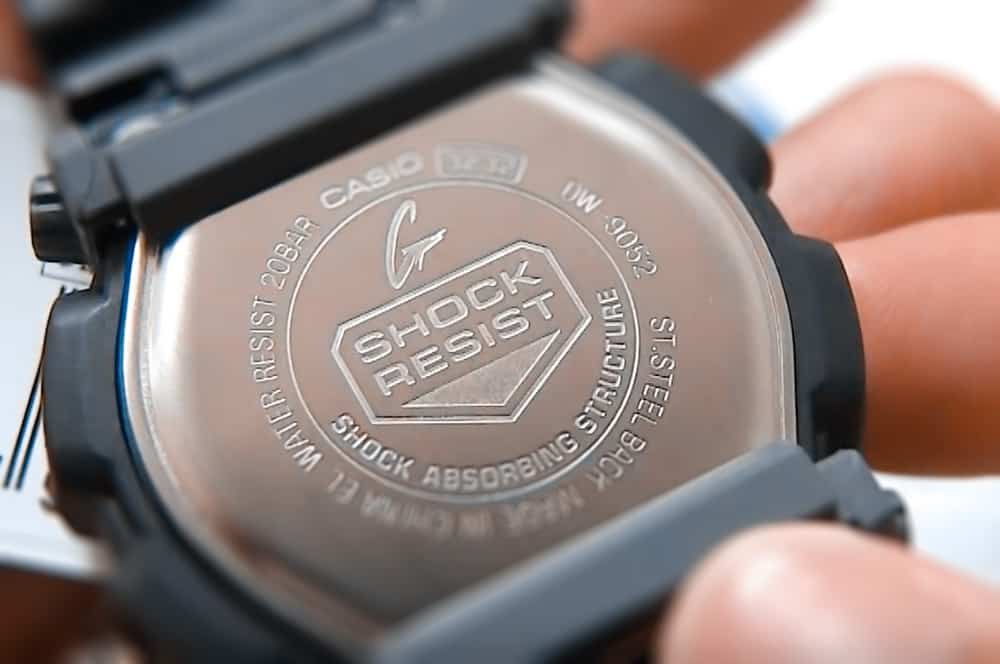 The Casio G-Shock DW-9052 is rugged and shock resistant
