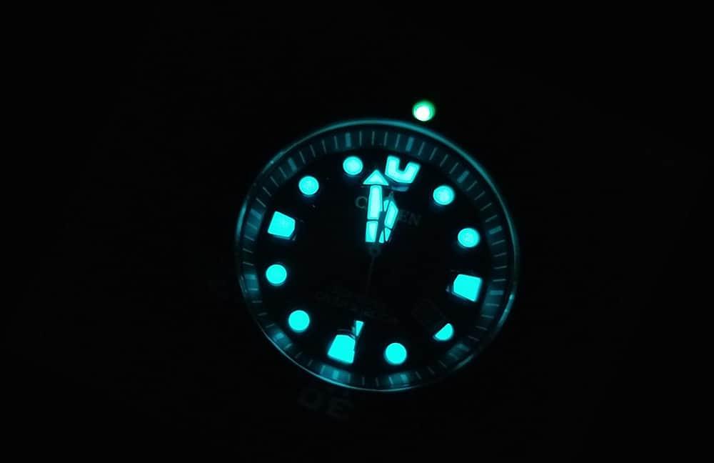 Citizen BN0151-09L Dive Night Light
