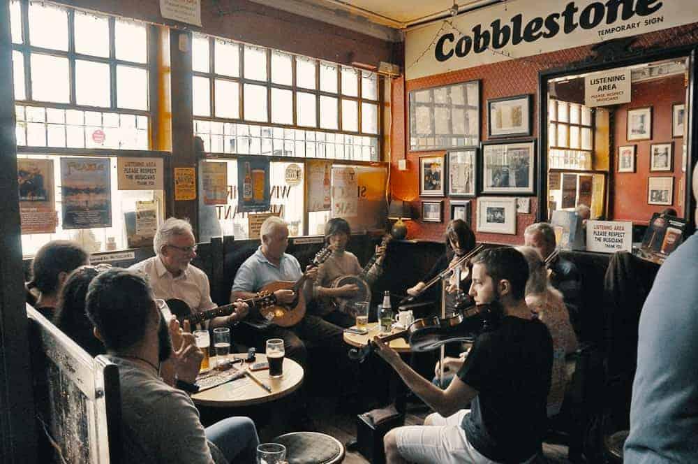 Cobblestone Pub Dublin