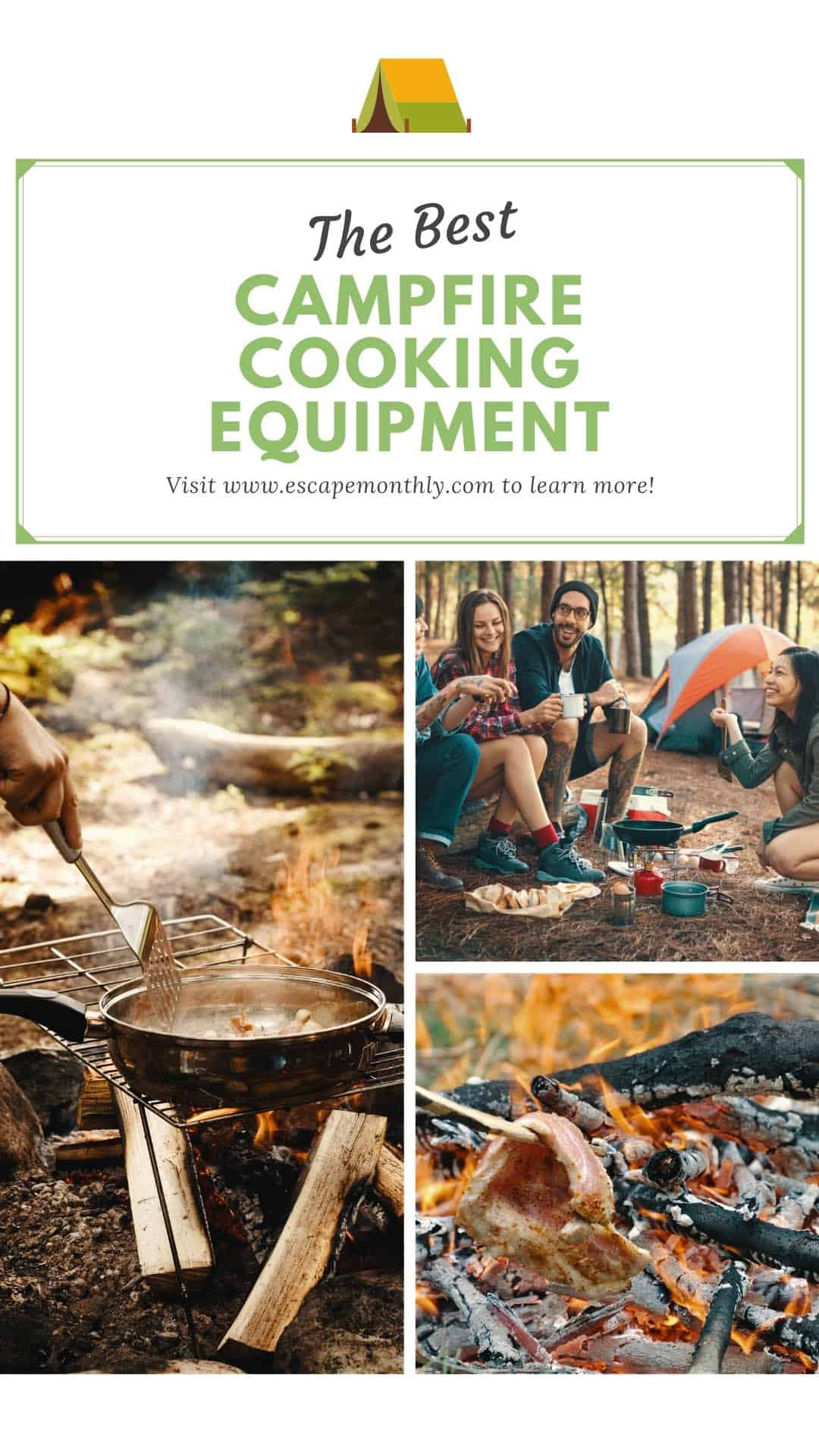 Cooking over a campfire pinterest