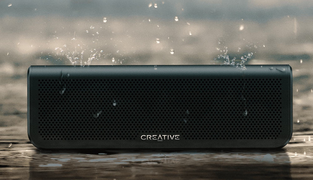 Creative Metallix Outdoor Bluetooth Speaker Water Resistant