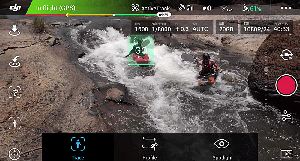 DJI Mobile App for Video Editing