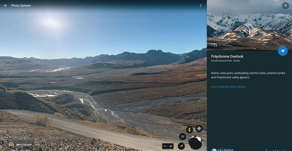 Denali National Park virtual tour