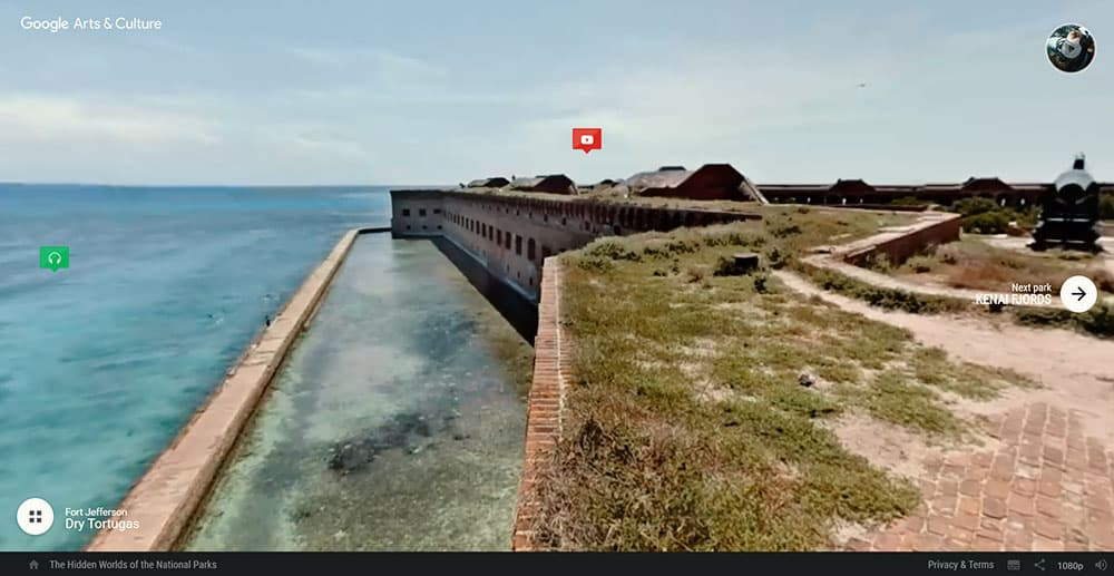 Dry Tortugas National Park virtual tour