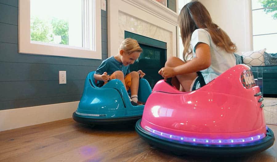 Electric bumper car for kids friends