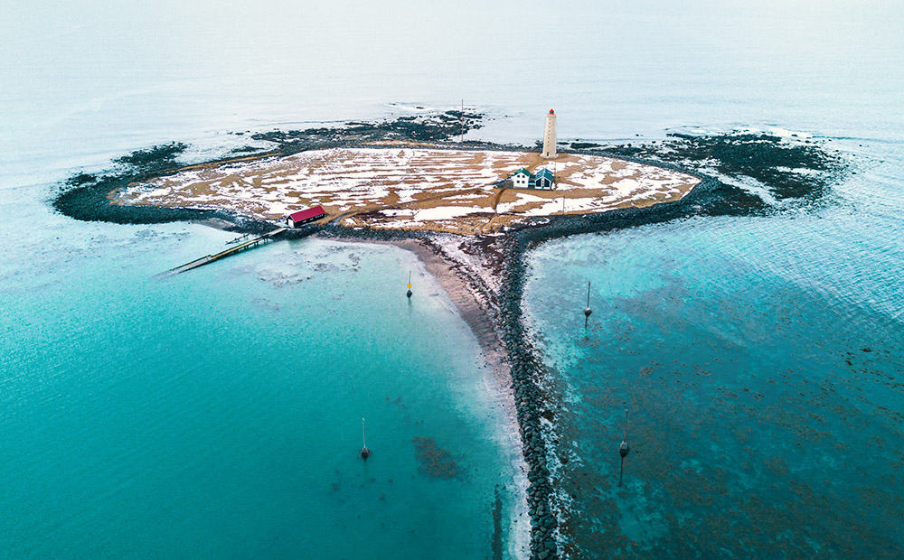 Grotta Lighthouse Reykjavík