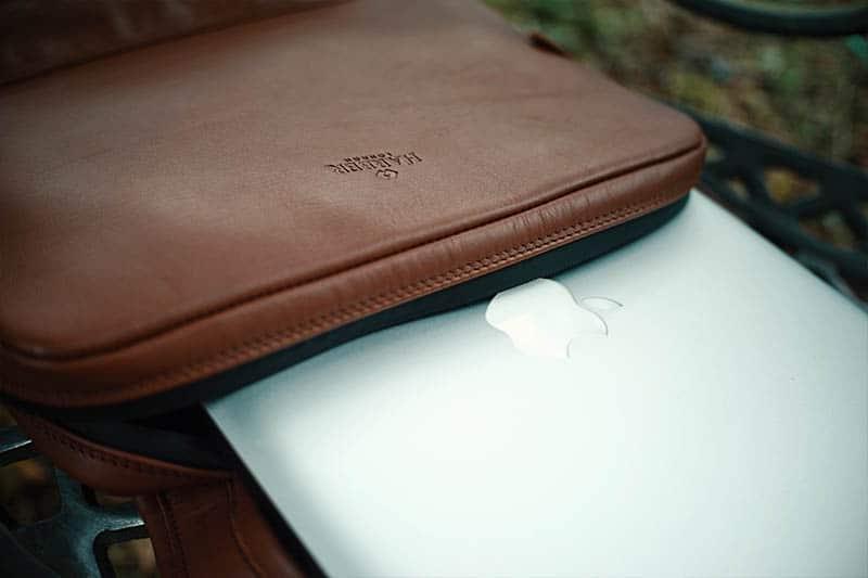 Harber London Slim Laptop Backpack Macbook Pro