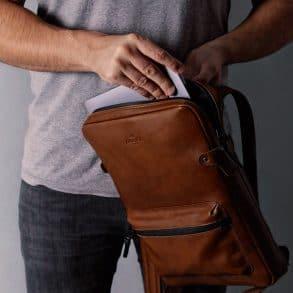 Harber London Slim Laptop Backpack