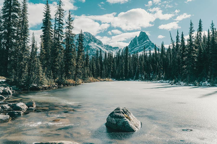 Jasper National Park camping spots