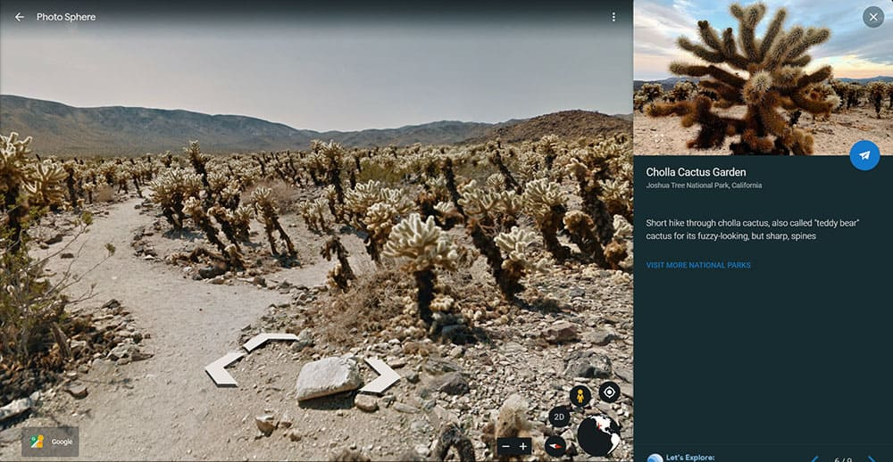Joshua Tree National Park virtual tour