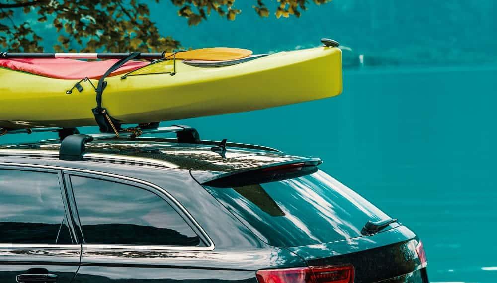 Transportabilidad de las canoas de kayak