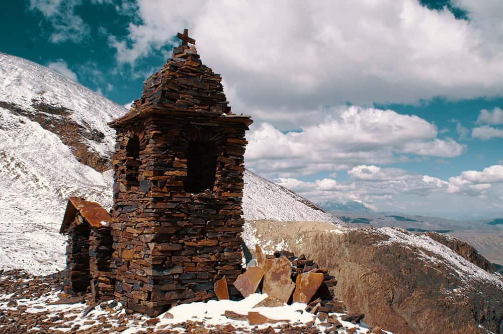 La Paz Bolivian Andes