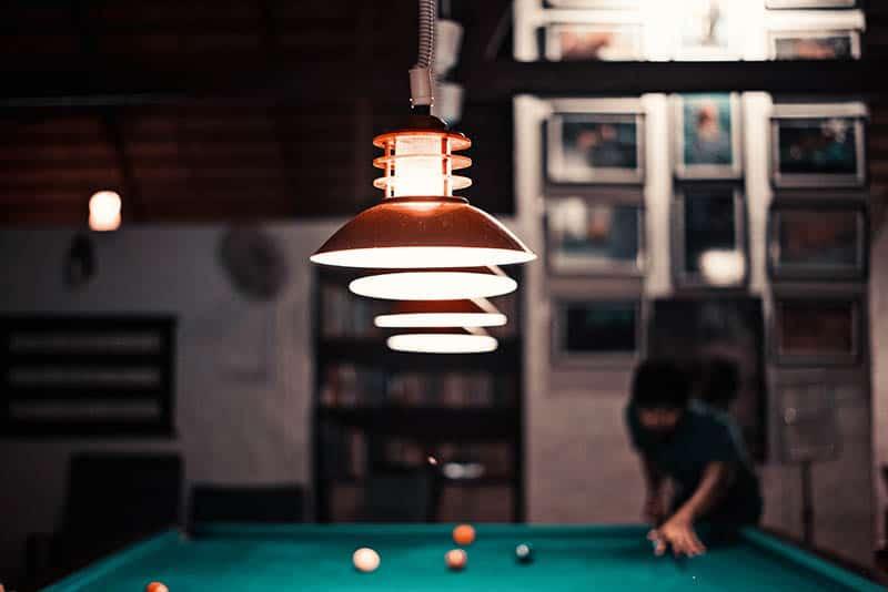 Lamp lighting mood