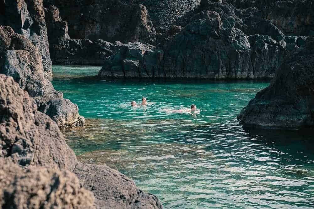 Lava Pools in Porto Moniz Madeira Island
