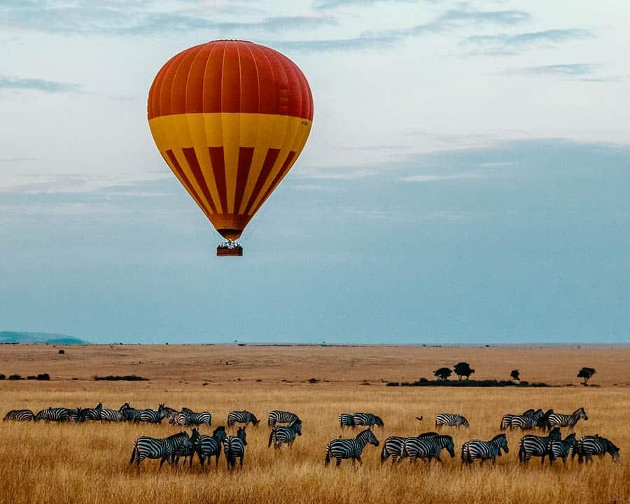 Maasai Mara National Reserve campgrounds