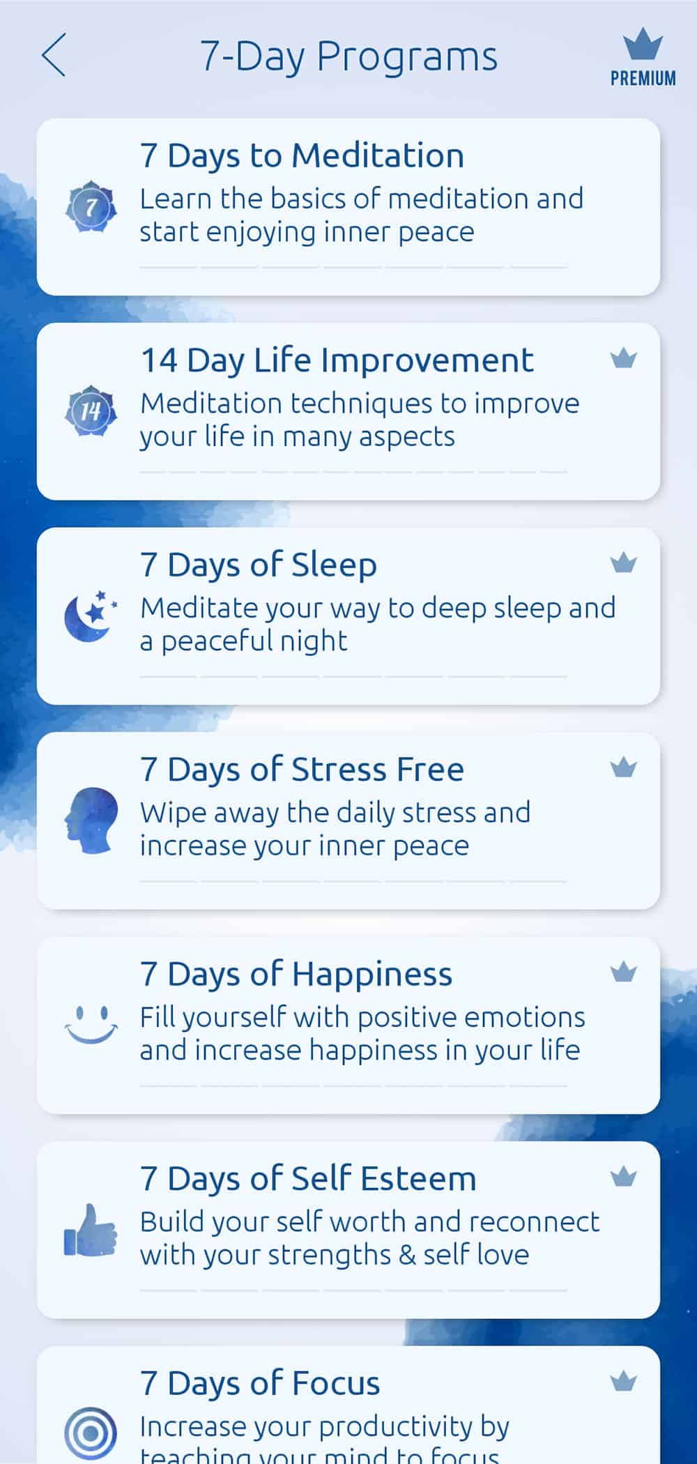 Meditation and Relaxation App