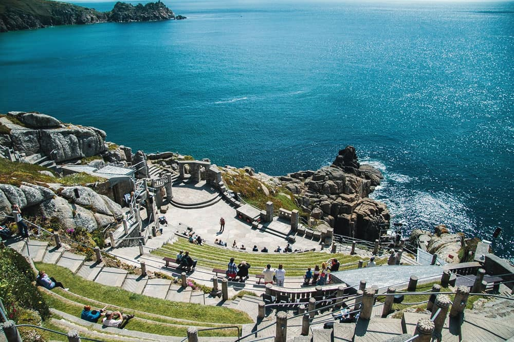 Minack Theatre at Porthcurno Cornwall