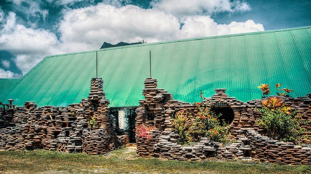 Moorea Stone House