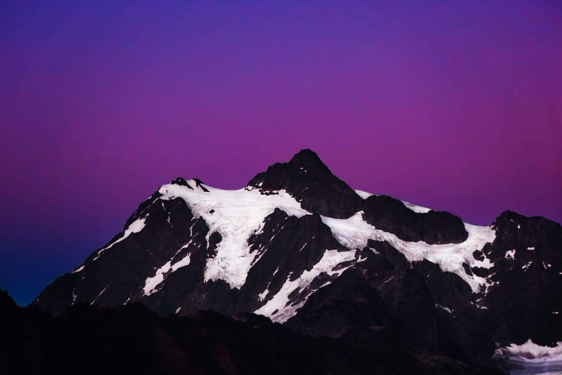 Mount Baker Washinton USA