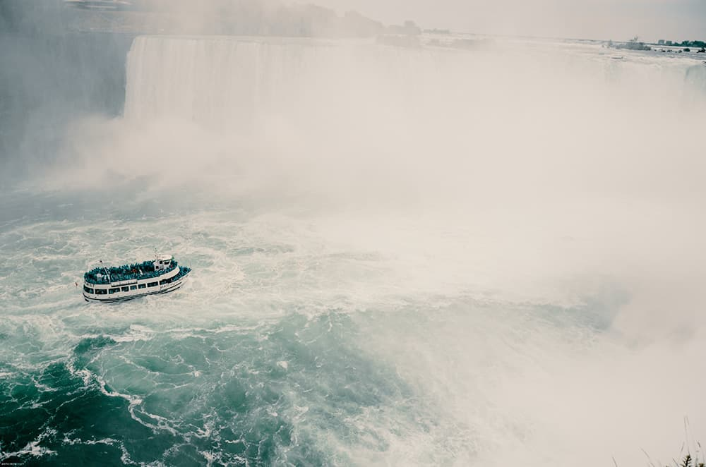 Niagara falls Drone Aerial Photo