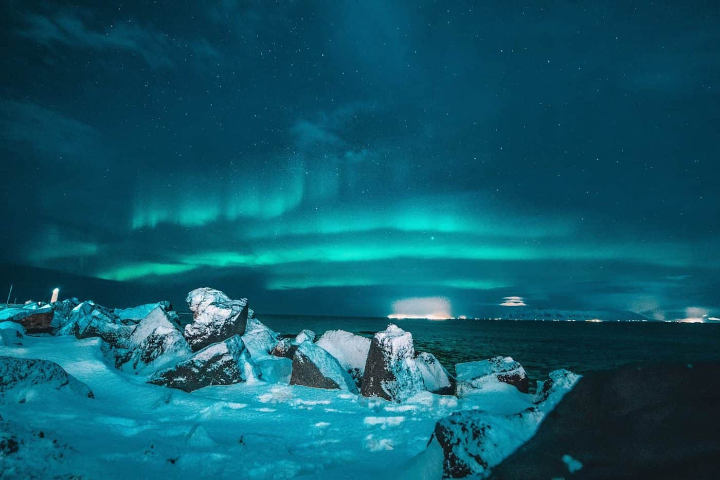 Northern Lights Iceland Cover