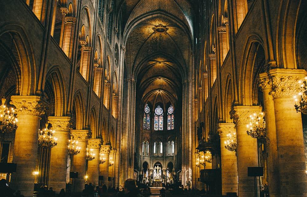 Notre Dame Interior Decor