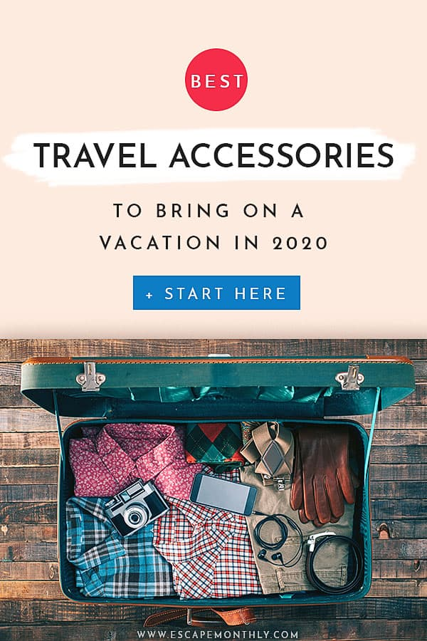 Pin It Best Travel Accessories 2020