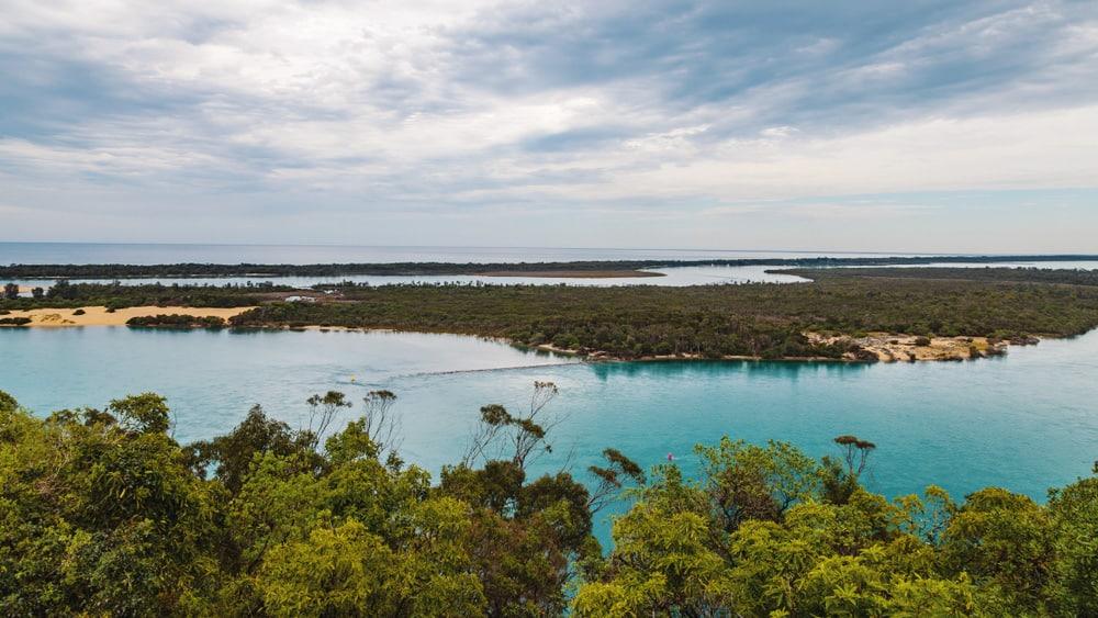 Rigby Island Australia Drone Aerial View