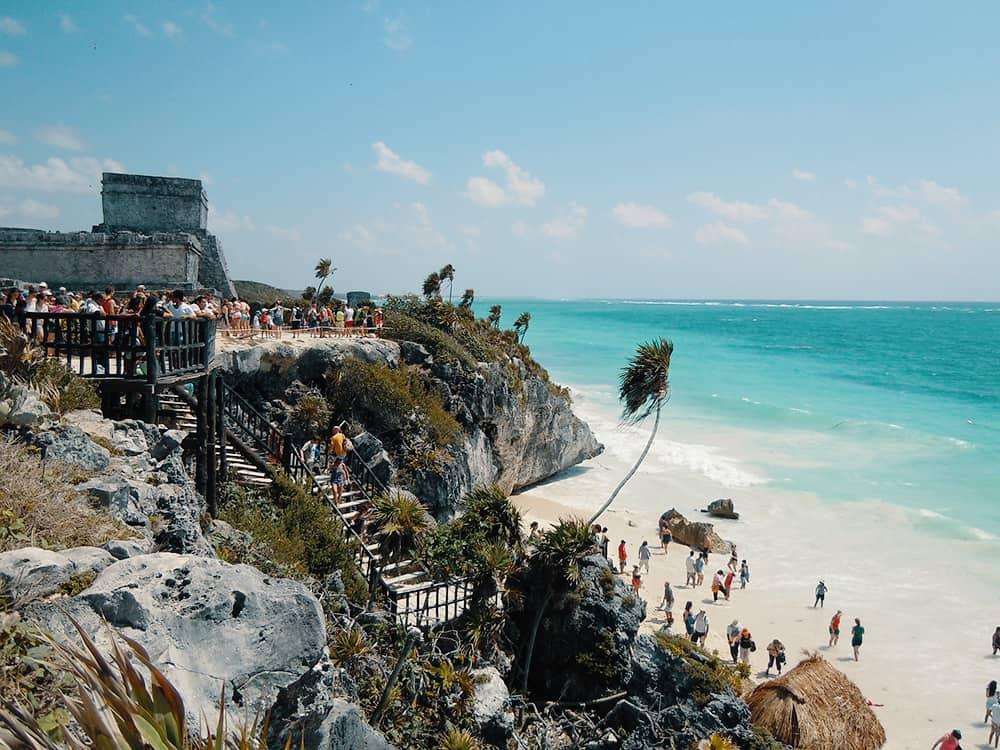 Riviera Maya Tulum Drone Aerial Footage