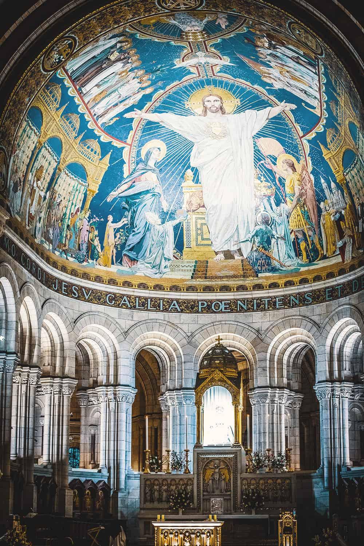 Sacre Coeur Interior Paris France