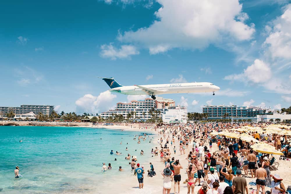 Saint Martin Airplane