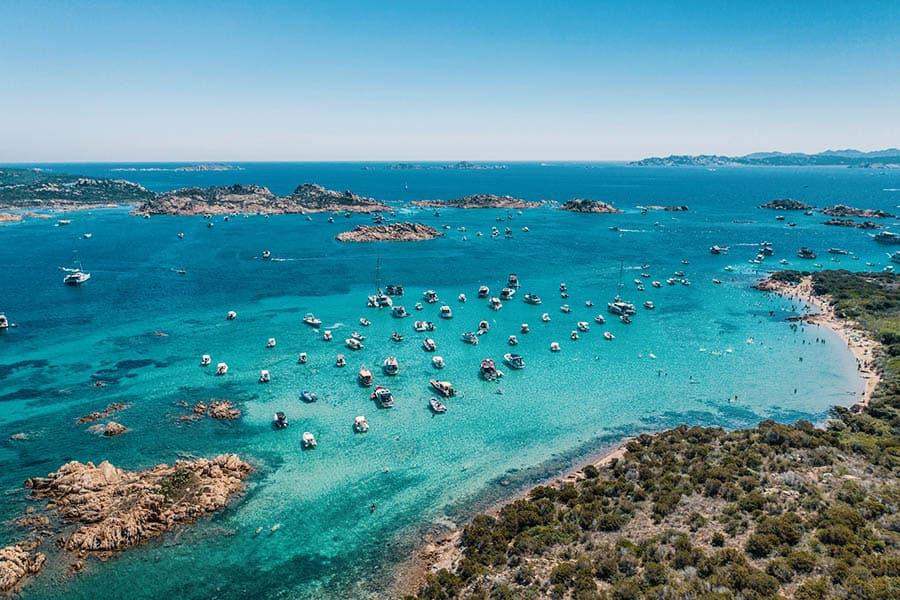 Sardinia Island camp places