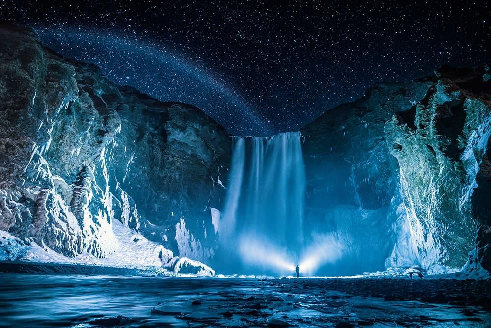 Skogafoss Waterfall Skogar