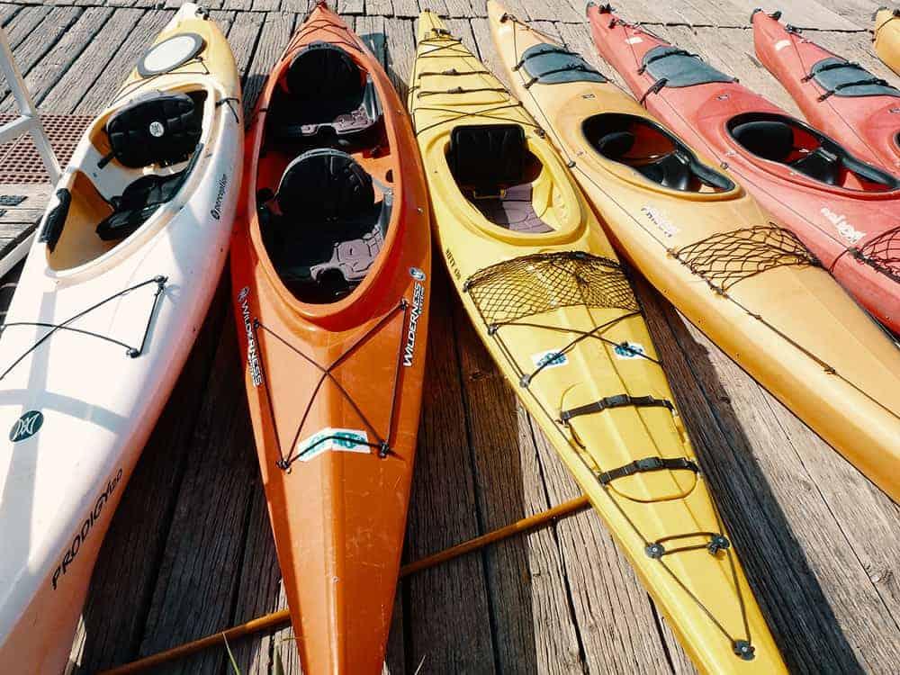 Kayaks individuales vs kayaks tándem