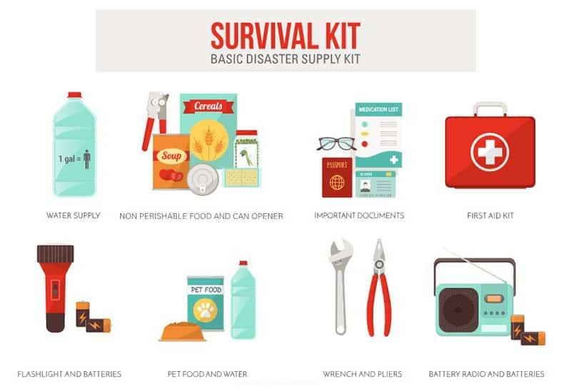 Survival Kit Basic Disaster Supply Kit