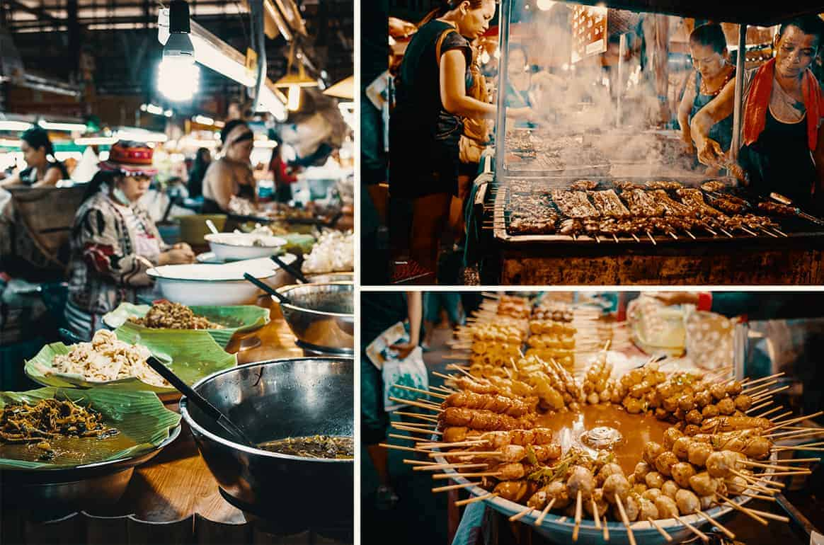 Thai Style Street Food in Chang Mai