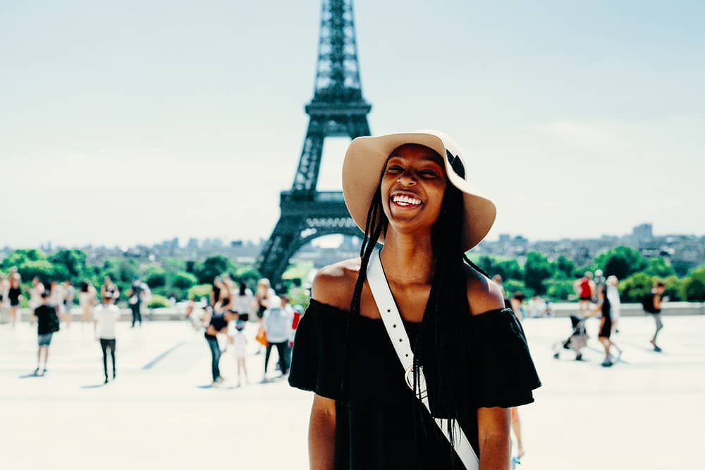 Tourist Paris