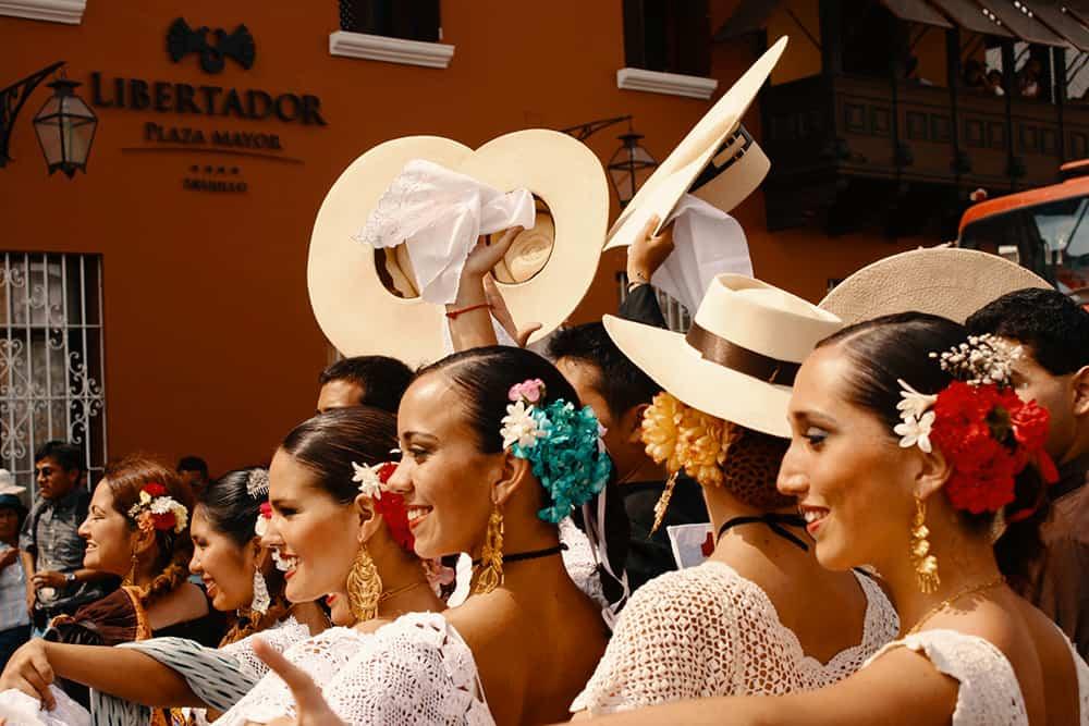 Trujillo Dancers Festival Peru