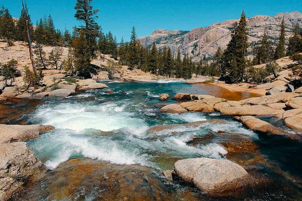 Tuolumne River Kayaking