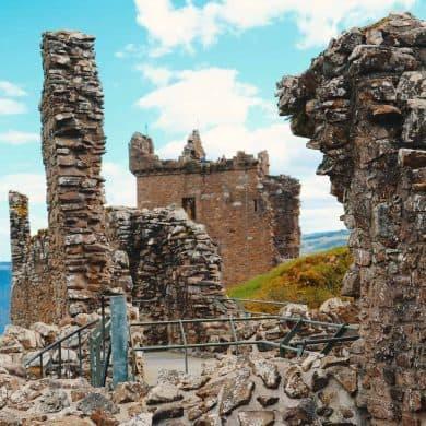 Urquhart Castle Loch Ness United Kingdom Gem