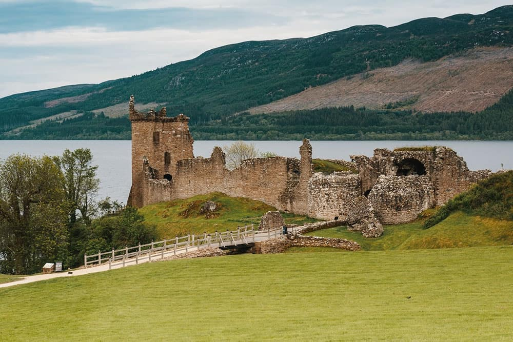 Urquhart Castle near Loch Ness Inverness