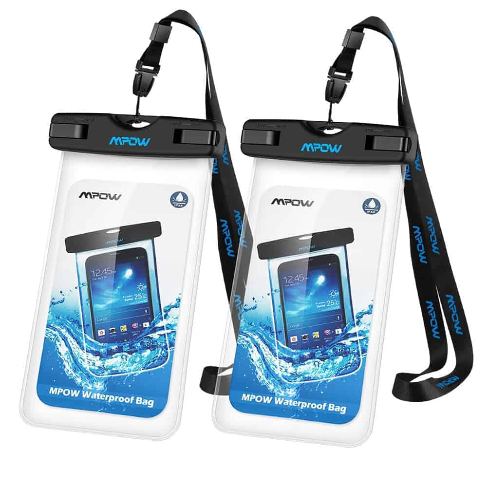Value For Money 2 Pack Waterproof Phone Pouch
