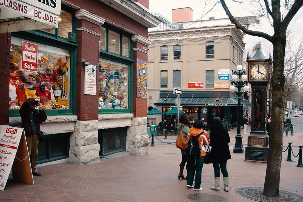 Vancouver Gastown Clockwork