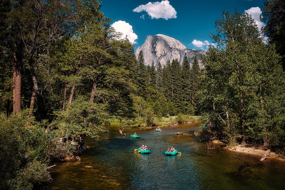 Yosemite National Park Kayaking