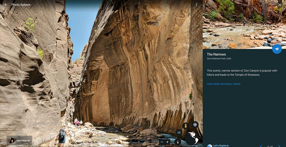 Zion National Park virtual tour